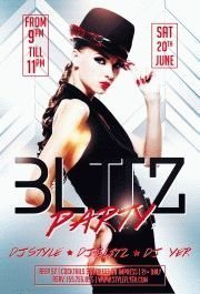 Blitz-party-PSD-Flyer-Template