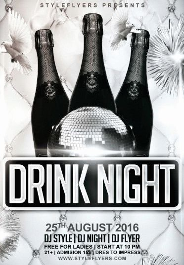 Drink-Night-PSD-Flyer-Template