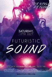 Futuristic-sound-PSD-Flyer-Template