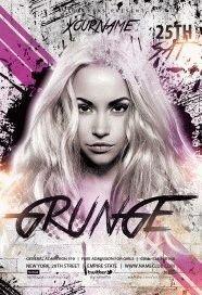Grunge-Flyer