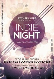 Indie_Night-PSD-Flyer-Template