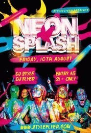 Neonsplash-PSD-Flyer-Template