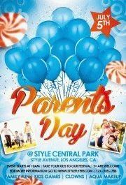 Parents-Day-PSD-Flyer-Template