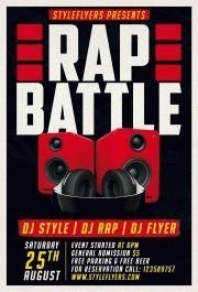 Rap-Battle-PSD-Flyer-Template