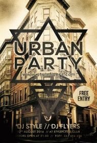 Urban-Party-PSD-Flyer-Template