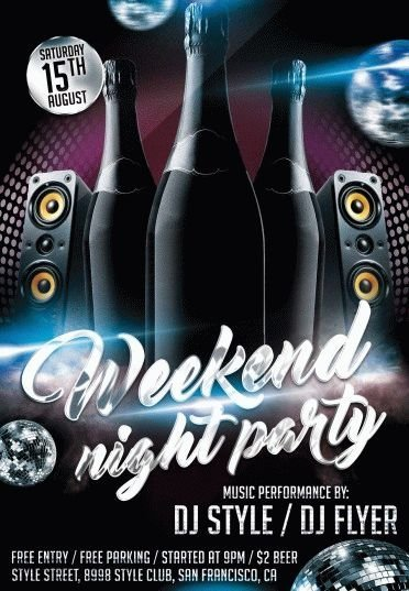 Weekend-Night-Party-PSD-Flyer-Template