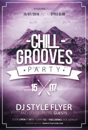 chill_flyer_template
