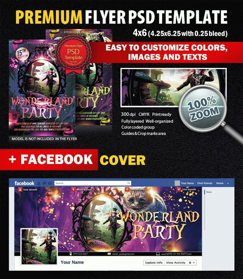 preview_Wonderland_Party_Flyer_PSD_Flyer_Template