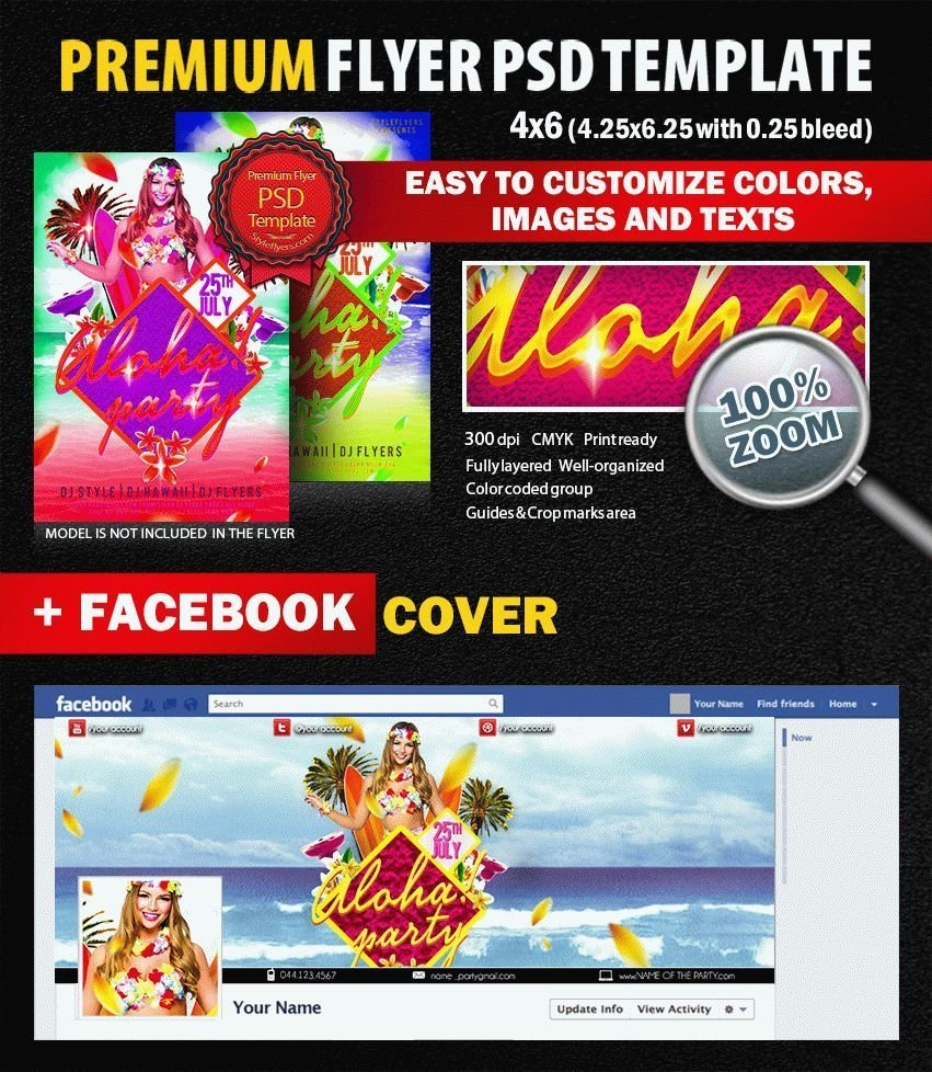 preview_aloha_party_PSD_Flyer_Template
