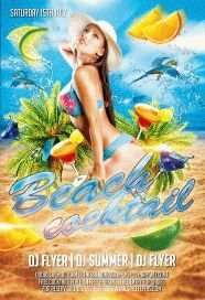 Beach-Cocktail-PSD-Flyer-Template