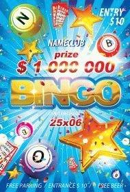 Bingo PSD Flyer Template