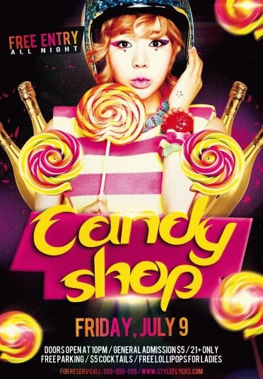 Candy-Shop-PSD-Flyer-Template
