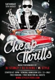 Cheap-Thrills-Party-PSD-Flyer-Template