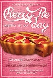 Cherry-Pie-Day-PSD-Flyer-Template