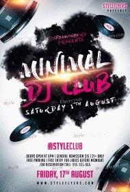 DJ-Minimal-PSD-Flyer-Template
