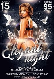 Elegant-Night-PSD-Flyer-Template