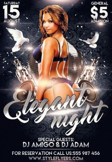 Elegant-Night-PSD-Flyer-Template