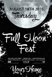 full-moon-fest-psd-flyer-template4556
