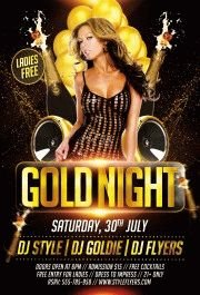 Gold-Night-PSD-Flyer-Template