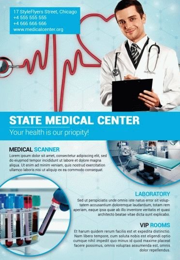 Medical-Center-PSD-Flyer-Template