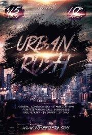 Urban-Rush-PSD-Flyer-Template