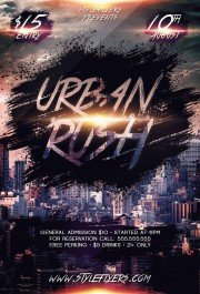 Urban-Rush-PSD-Flyer-Template