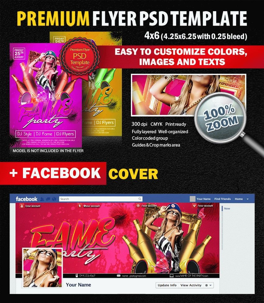 preview_Fame_flyer_PSD_Flyer_Template