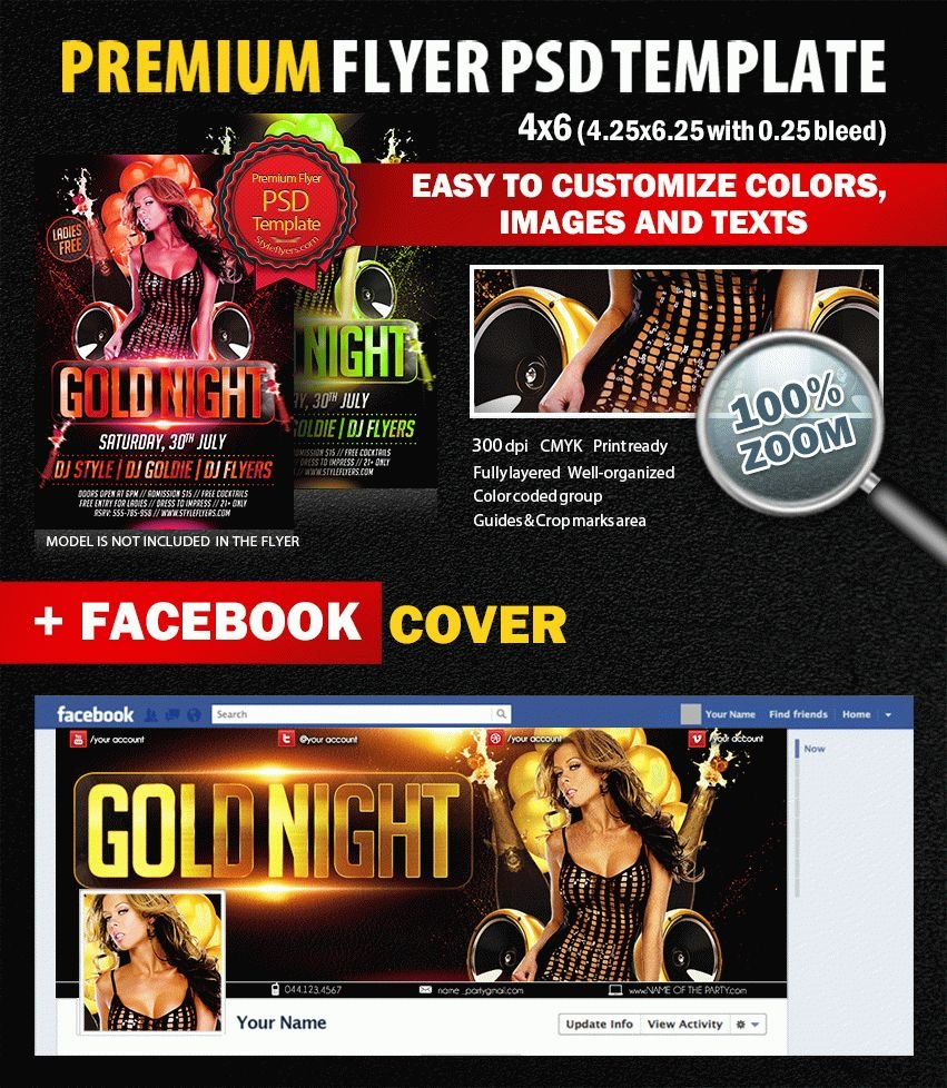 preview_Gold_night_PSD_Flyer_Template
