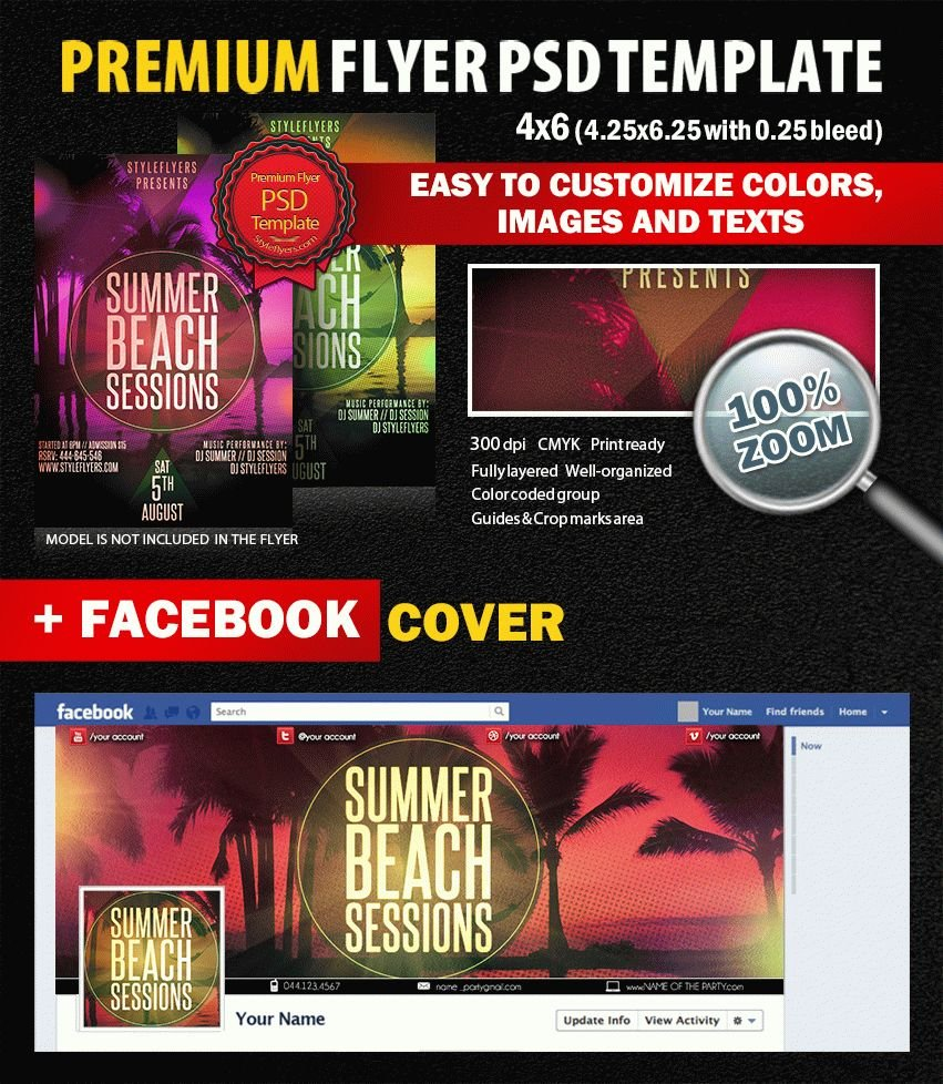 preview_Summer_Beach_Sessions_PSD_Flyer_Template