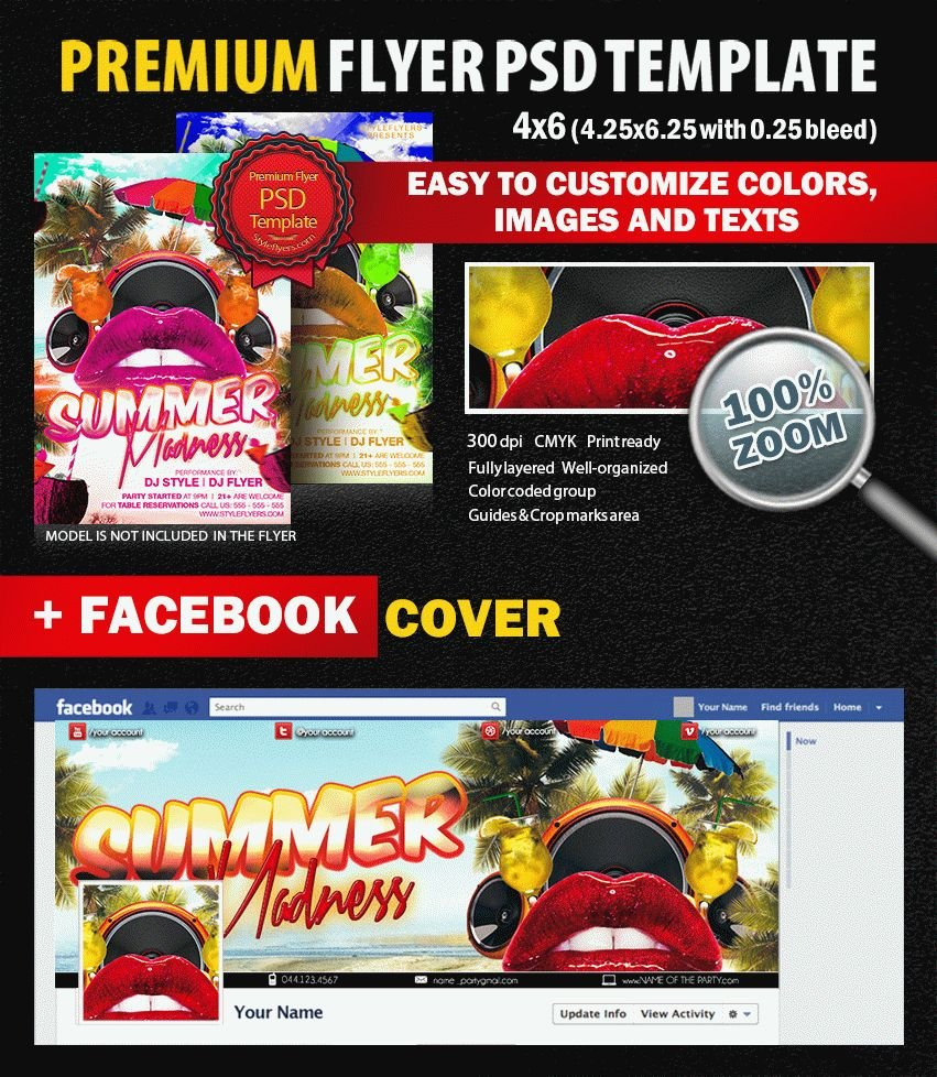 preview_Summer_Madness_Party_PSD_Flyer_Template