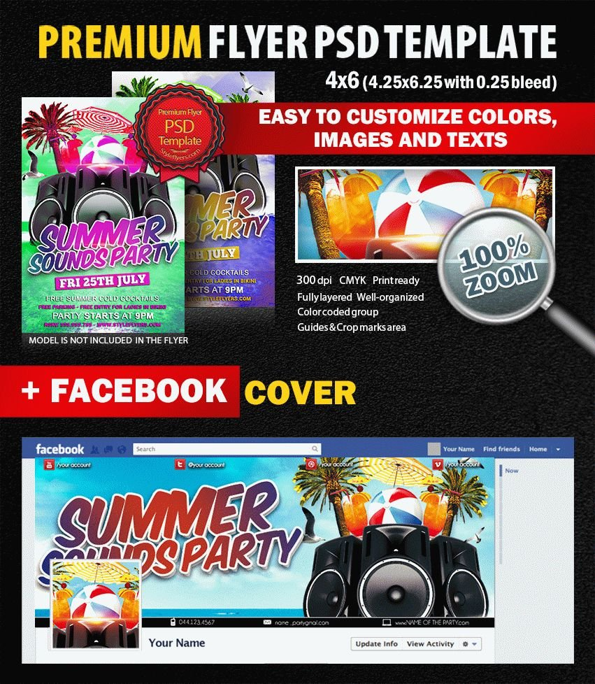 preview_Summer_Sounds_Party_PSD_Flyer_Template