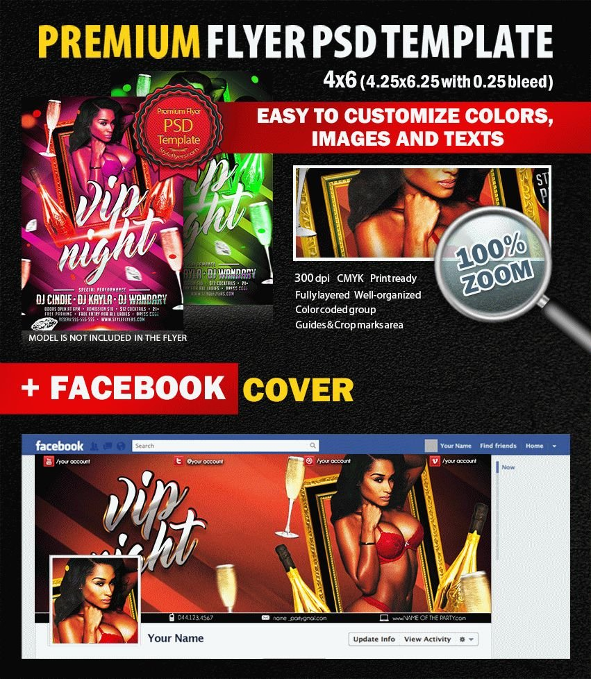 preview_Vip_night_PSD_Flyer_Template