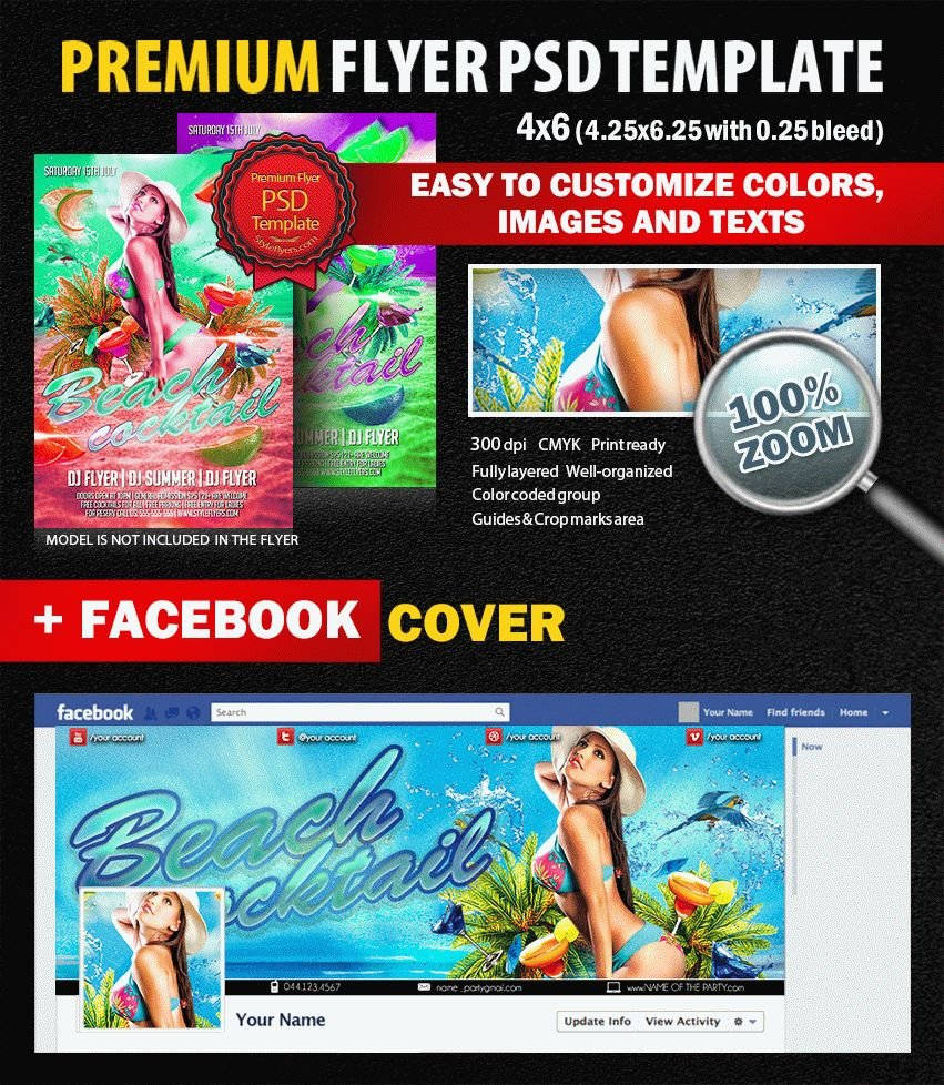 preview_beach_cocktail_PSD_Flyer_Template