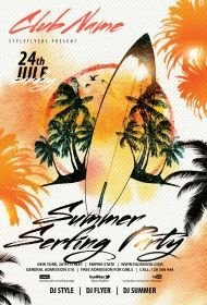 summer-serfing-party