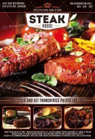 free restaurant flyer psd templates download styleflyers