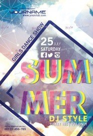 Summer-PSD-Flyer-Template