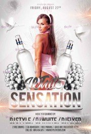 White Sensation  PSD Flyer Template