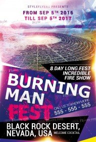 burning-man-flyer-free-psd-template