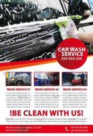 Free Car Wash Flyer Psd Templates Download Styleflyers