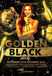 golden-black-psd-flyer-template