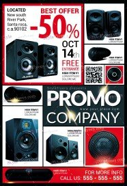 Promo Free PSD Flyer
