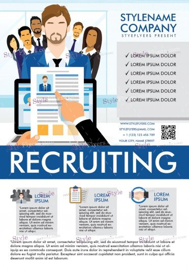 recruiting-psd-flyer-template