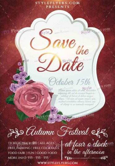 save-the-date-psd-flyer-template