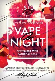 vape-on-night-psd-flyer-template