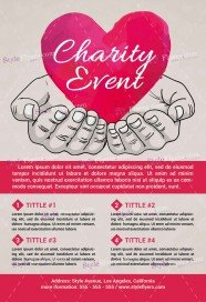 charity event flyer templates free koni polycode co