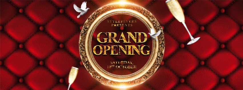 Grand Opening Free Psd Flyer Template Free Download 11404 Styleflyers