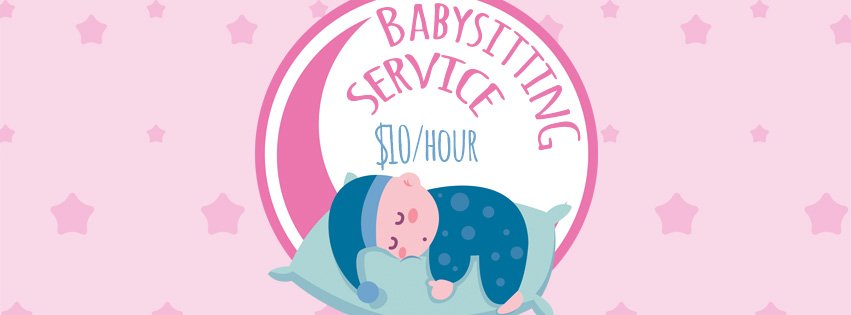 Babysitting Free Psd Flyer Template V Free Download