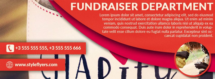 Fundraiser Free Psd Flyer Template Free Download #11693 - Styleflyers