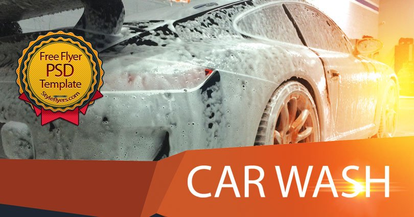 Car Wash Free Psd Flyer Template Free Download 11351 Styleflyers