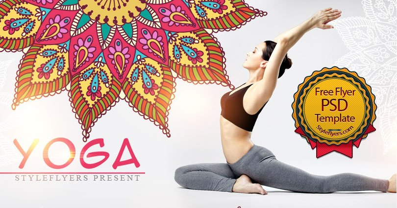 Yoga Free Psd Flyer Template Free Download 11284 Styleflyers